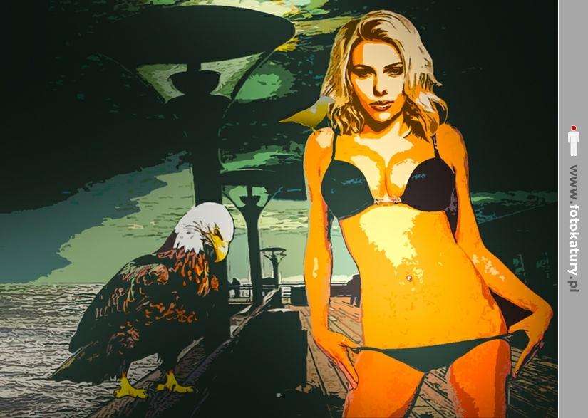 Scarlett Johansson w mojej wyobrazni - MO i POLICJA