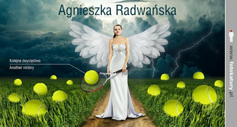 Agnieszka Radwańska - Anioł tenisa ziemnego - Zgadzasz się? - A. Radwański
