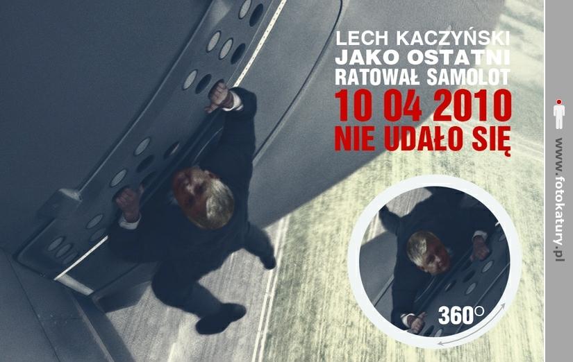 Lech Kaczyński jako ostatni ratował samolot - MNOO.