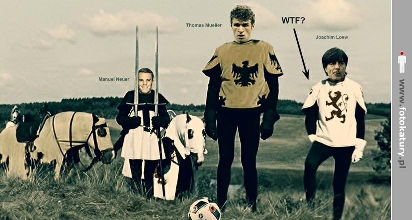 Niemcy w wersji piłkarskiej - Co Joachim robi? - WTF? - WTF?
