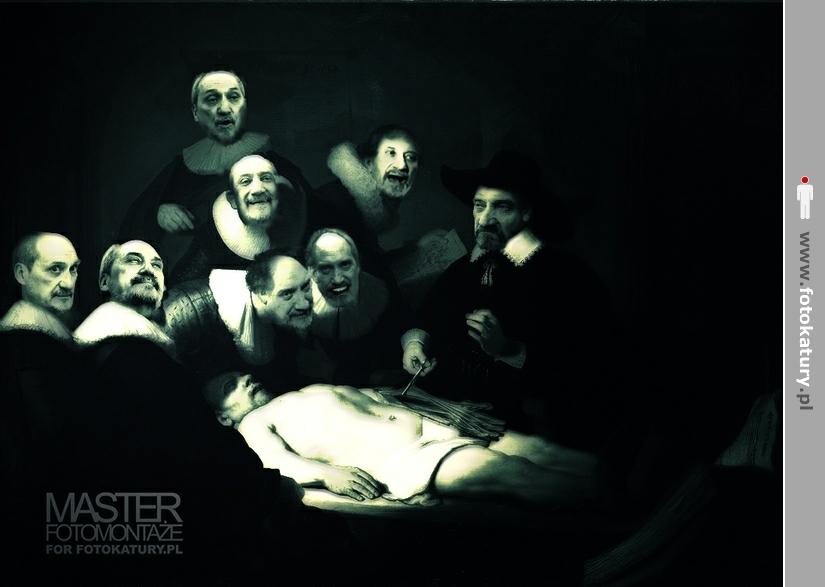 Rodzina Macierewiczów przeprowadza ważną operację - MASTER fotomontaże