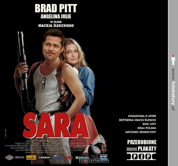 SARA - Brad Pitt i Angelina Jolie - Przerobione plakaty