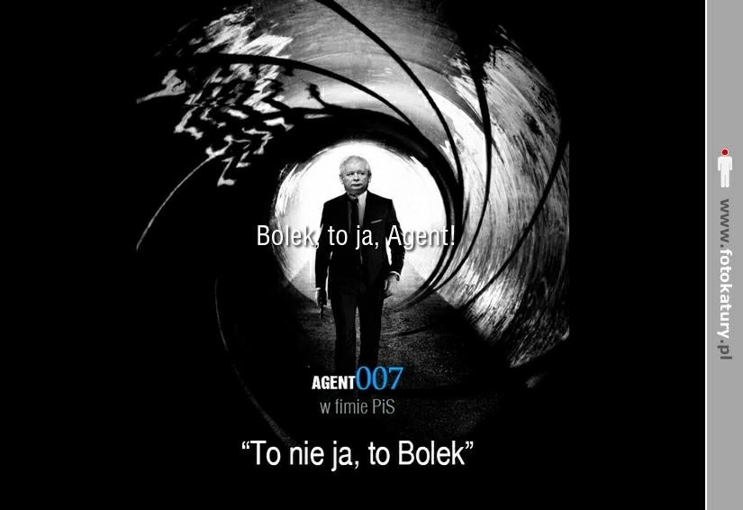 Agent007 - To nie ja, to Bolek - Sobieski - Anonim